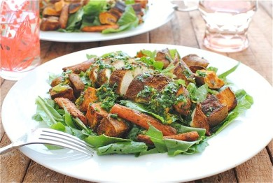 Рецепт Марокканский куриный салат