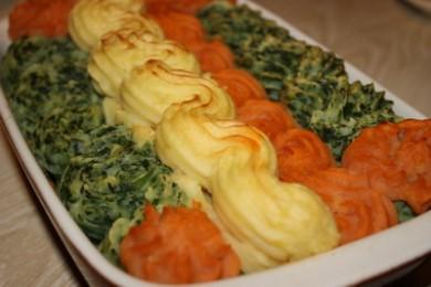 Рецепт Картофельные волны