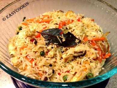 Рецепт Рис с овощами по-индийски