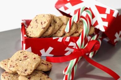 Рецепт Миндально-клюквенное печенье