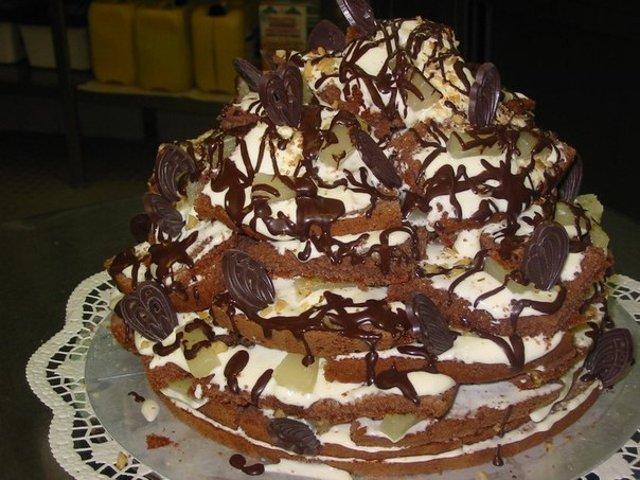 Бисквитные торты рецепты панчо