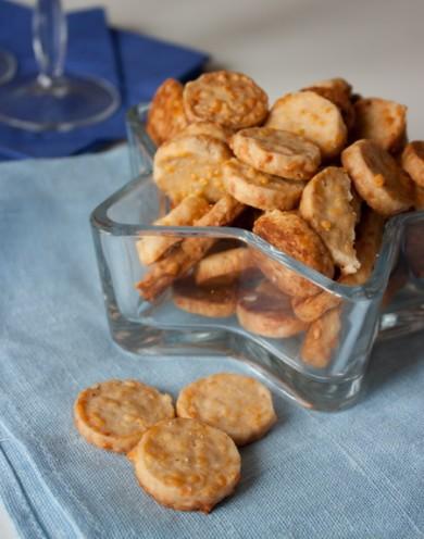 Рецепт Коктейльное сырное печенье