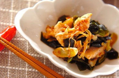 Рецепт Горячий салат из куриного филе