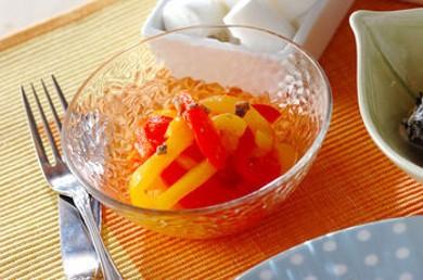 Рецепт Перец, маринованный с анчоусами