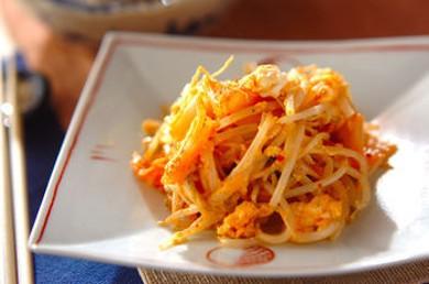 Рецепт Проростки фасоли с яйцом