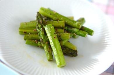 Рецепт Зеленая спаржа с тмином