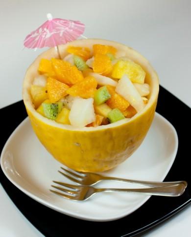 Рецепт Фруктовый салат в дыне