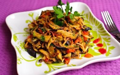 Рецепт Баклажановый салат