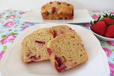 Рецепт Клубнично-йогуртовый хлеб