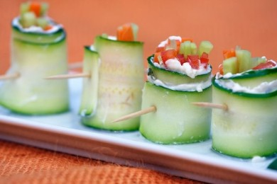 Рецепт Овощные роллы