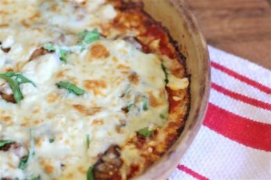 Рецепт Пицца с цветной капустой