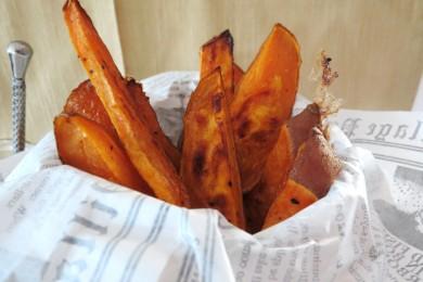Рецепт Хрустящий сладкий картофель фри