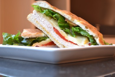 Рецепт Бутерброд с копченным сыром