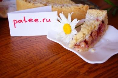 Рецепт Постный торт с крыжовником