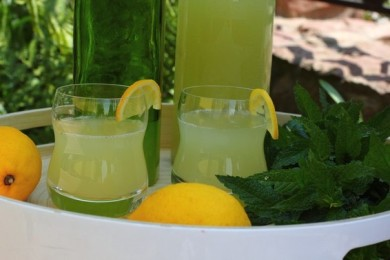 Рецепт Имбирно-мятный лимонад
