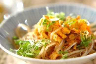Рецепт Жареные ростки фасоли и яйцом и майонезом