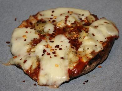 Рецепт Грибная пицца с артишоками