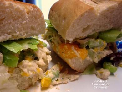 Рецепт Cэндвичи с куриным салатом
