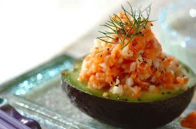 Рецепт Тартар из лосося с авокадо