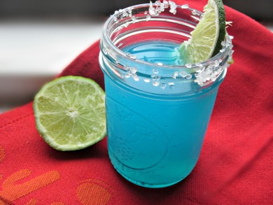 Рецепт Голубая маргарита