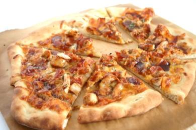 Рецепт Куриная пицца барбекю