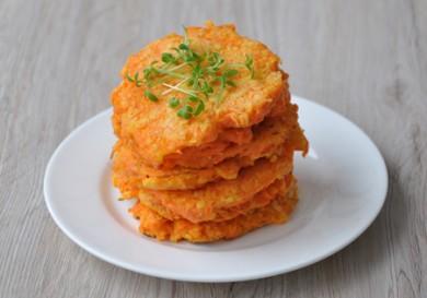Рецепт Морковные оладушки