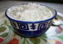 Холодный огуречно-кокосовый салат