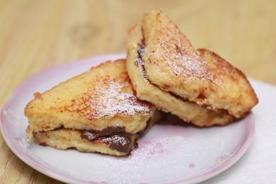 Рецепт Шоколадные тосты