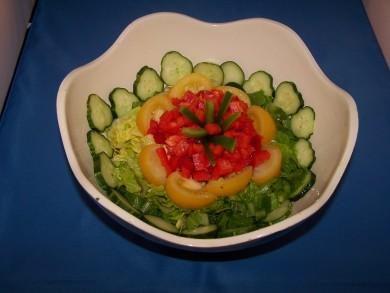 Рецепт Салат - цветок