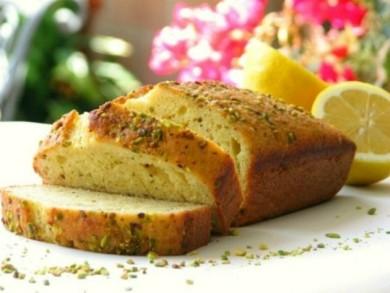 Рецепт Лимонный хлеб с тмином и фисташками