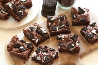 Рецепт Брауни с печеньем Орео