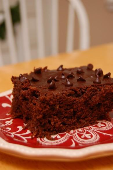 Рецепт Шоколадный пирог с цуккини