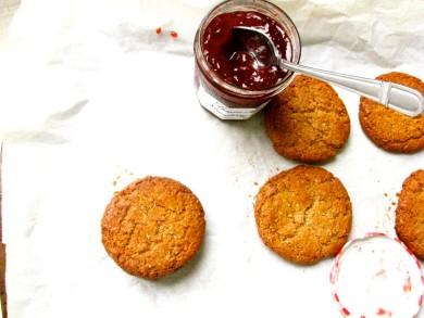 Рецепт Ореховое печенье без муки