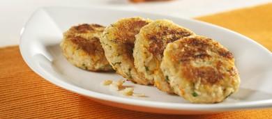 Рецепт Рисовые тефтели с овощами и творогом
