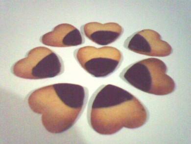 Рецепт Печенья-сердечки