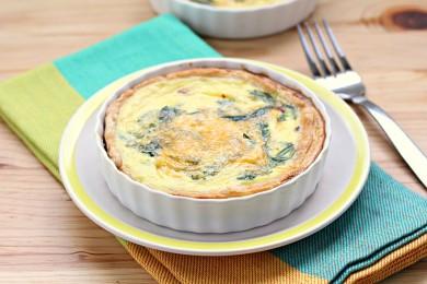 Рецепт Диетический пирог со шпинатом