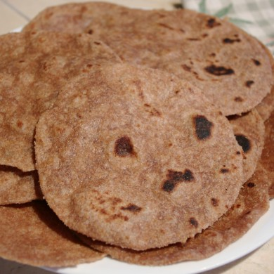 Рецепт Лепешки (лаваш домашний)