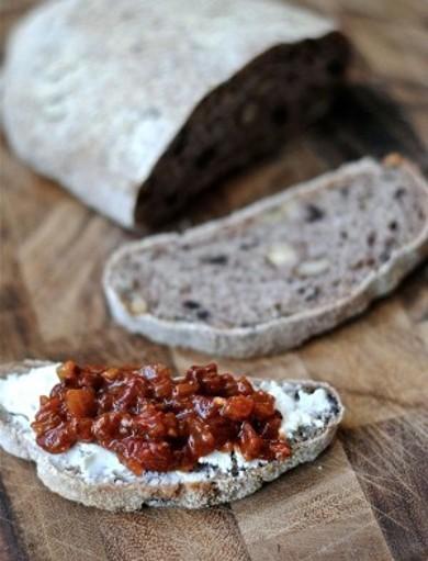 Рецепт Оливковый хлеб с орехами