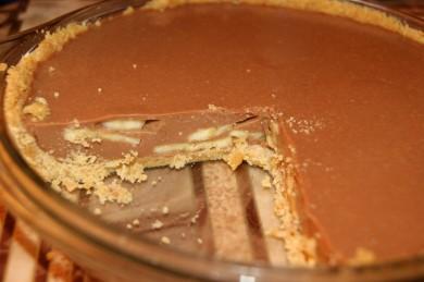 Рецепт Шоколадный торт с бананом.