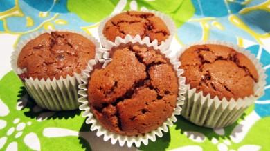 Рецепт Шоколадно-банановые кексы из нутовой муки