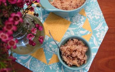 Рецепт Запеченный рисовый пудинг - мамин рецепт