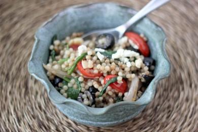 Рецепт Израильский салат с кускусом