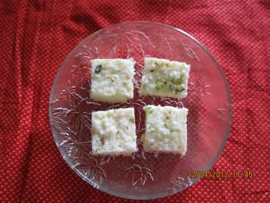 Рецепт Кокосовые квадратики