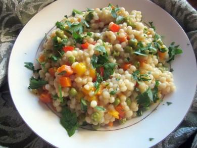 Рецепт Весенний салат с кускусом