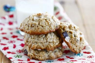 Рецепт Соленое печенье с шоколадными чипсами