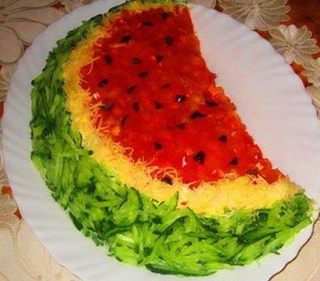 Вкусные необычные салаты рецепты с пошагово