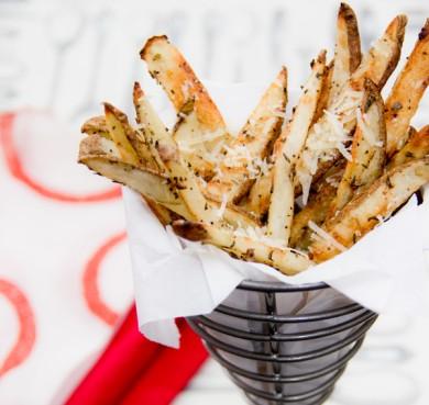 Рецепт Полезный запеченный картофель в пармезане
