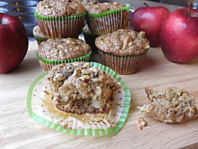 Рецепт Овсяные кексы с яблоками