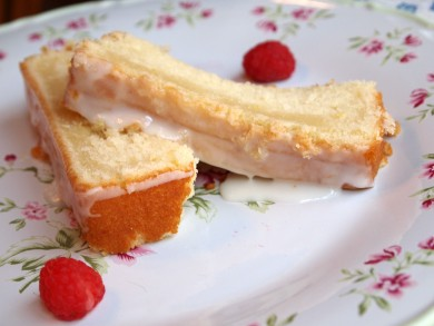 Рецепт Пирог с лимонной глазурью