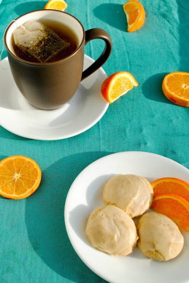 Рецепт Апельсиновое печенье с имбирем